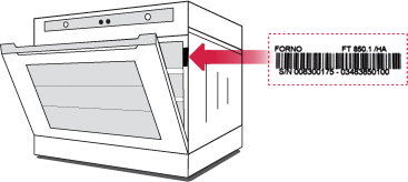 Etichetta Forno